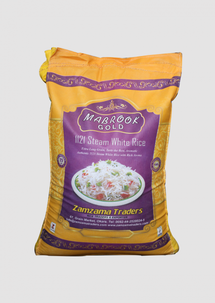 Steam Basmati – Mabrook Gold – 25 KG
