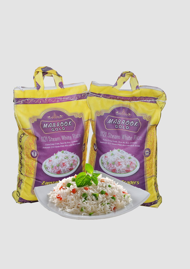 Steam Basmati – Mabrook Gold – 5 KG